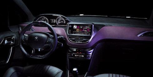 Inredningen på Peugeot XY