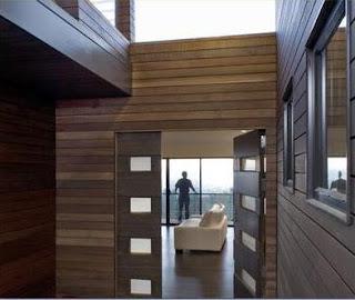 Fotos y dise os de puertas precios de puertas de madera for Modelos de puertas de madera para exteriores