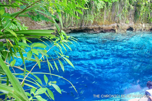 Enchanted River tinuyan falls