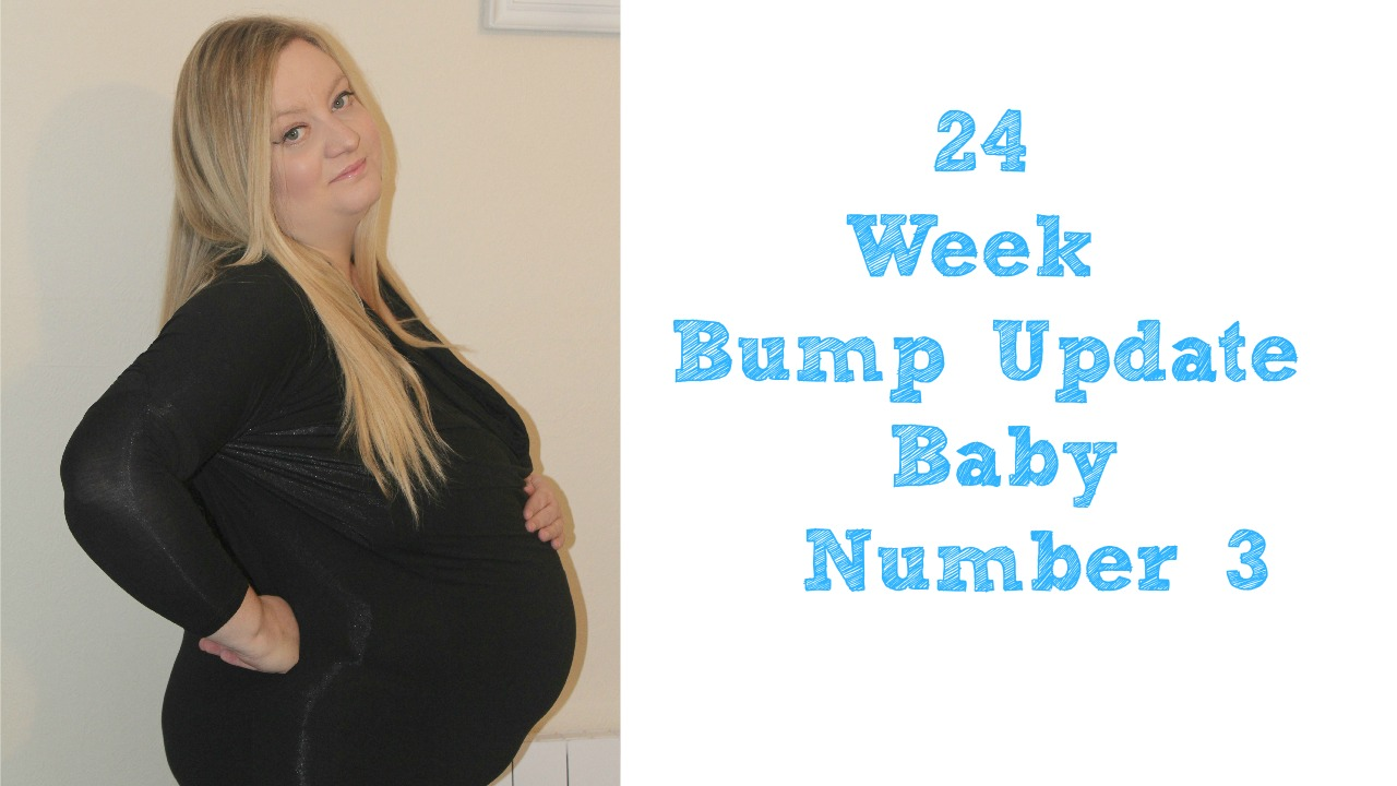24 Week Bump Update - Baby Number 3! | Sparkles ...