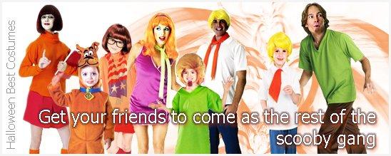Teens Halloween Costumes Scooby Doo Teens Group Ideas for