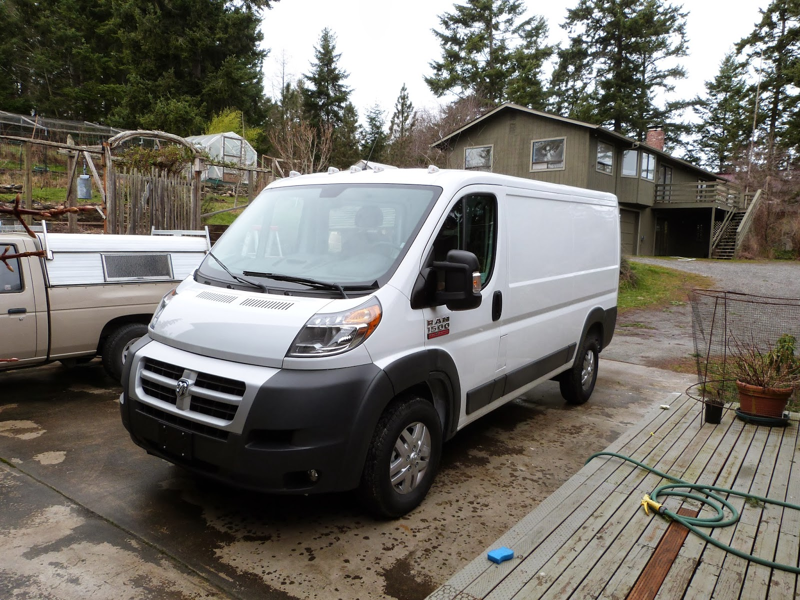 Promaster to Buster, the Camper Van: The New Van--a Promaster title=