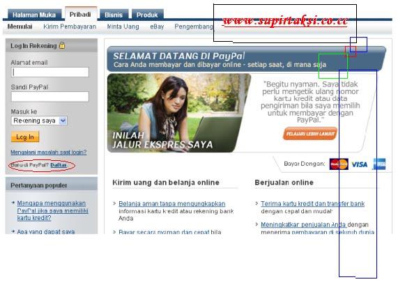 cara membuat akun paypal | Supirtaxi.blogspot.com