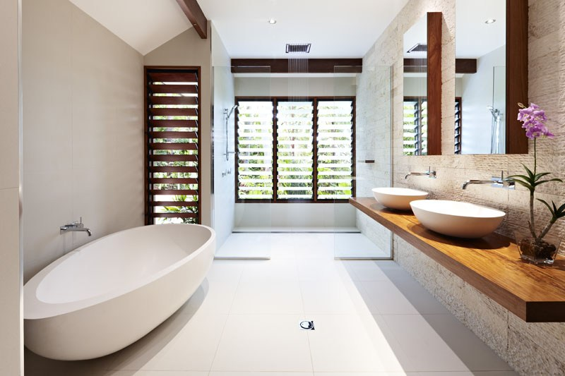 The homely place grand designs australia part 2 for Bathroom ideas qld