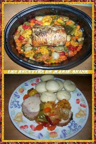 Roti de porc recettes ivoiriennes cuisine d 39 afrique et d - Recette de cuisine ivoirienne gratuite ...