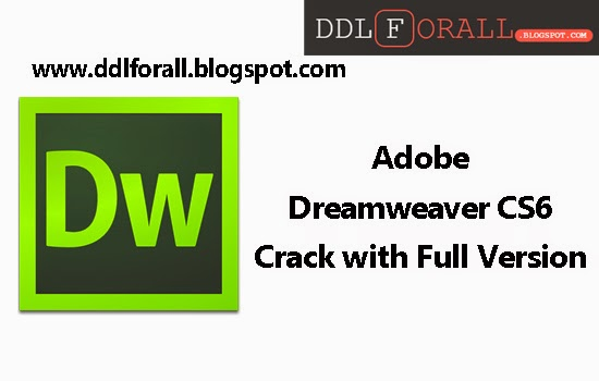 adobe dreamweaver cs6 crack file only