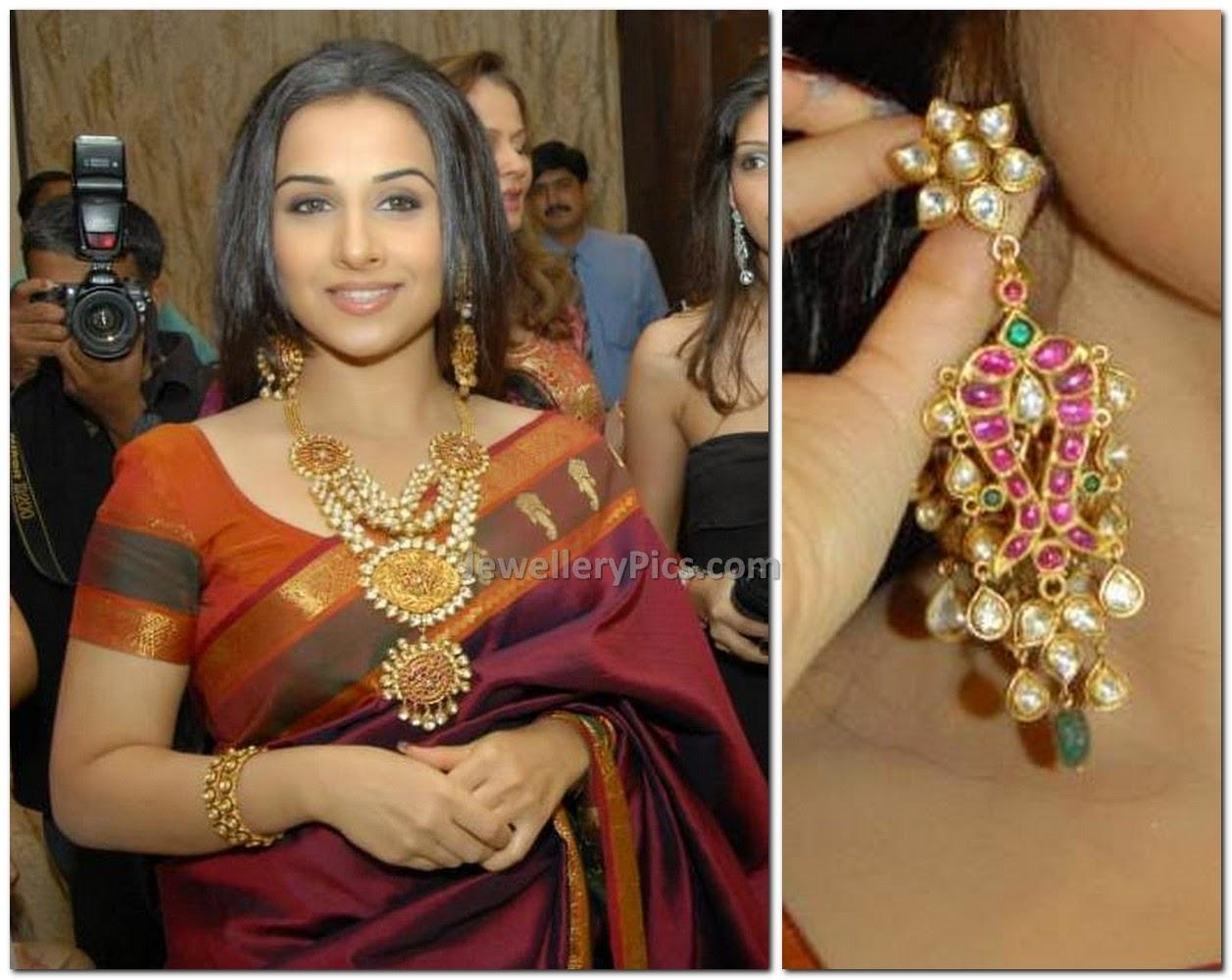 vidya balan jewellery