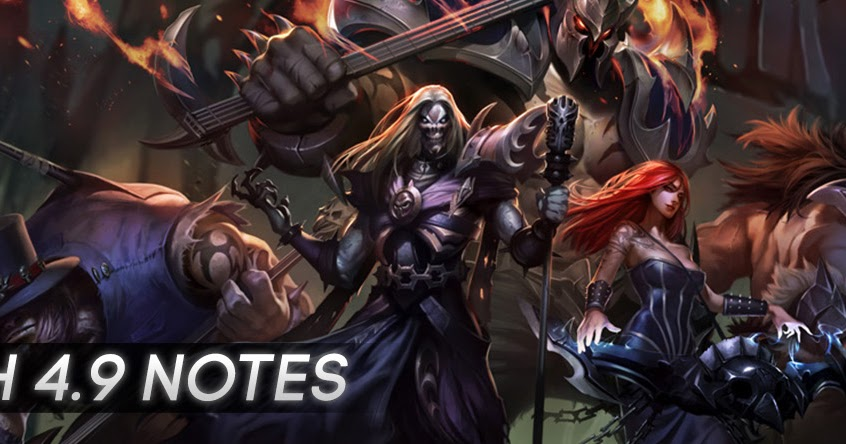 Surrender at 20: Patch 4.9 Notes