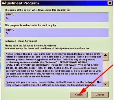 скачать adjustment program epson p50