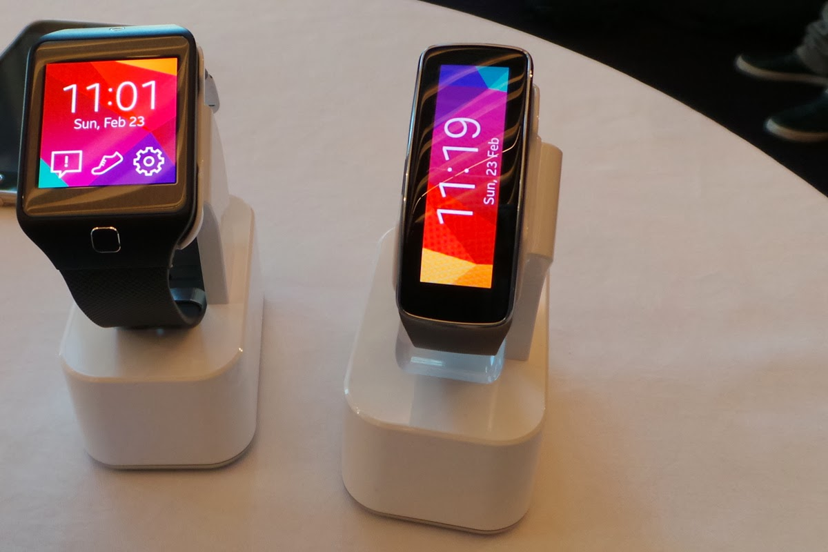 Samsung Gear 2 and Gear Fit