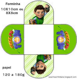 Kit Festa Tree Fu Tom Para Imprimir Grátis
