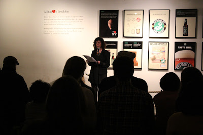 Jami Attenberg reading at Work It Brooklyn / Brooklyn Based Sandy Fundraiser