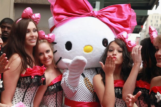 Hello Kitty is not a cat, she's a human girl
