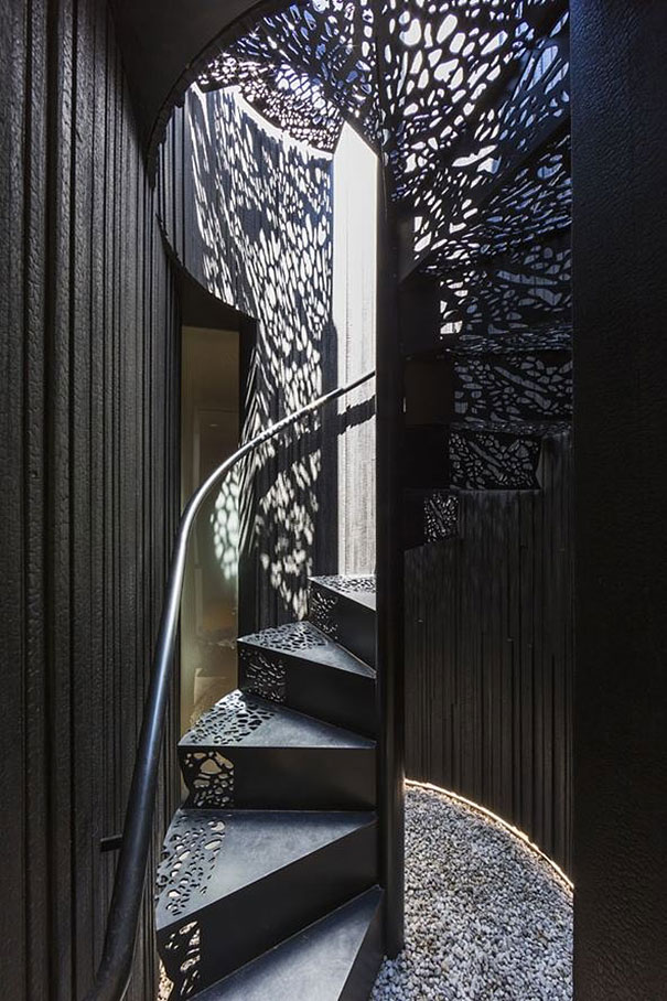 Lace Staircase