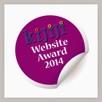 Il mio blog premiato dal sito Kijiji