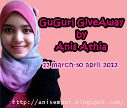 """GuGurl GiveAway by Anis Athia"""