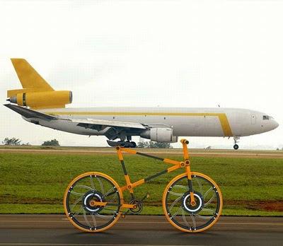 Funny Aeroplane Illusion