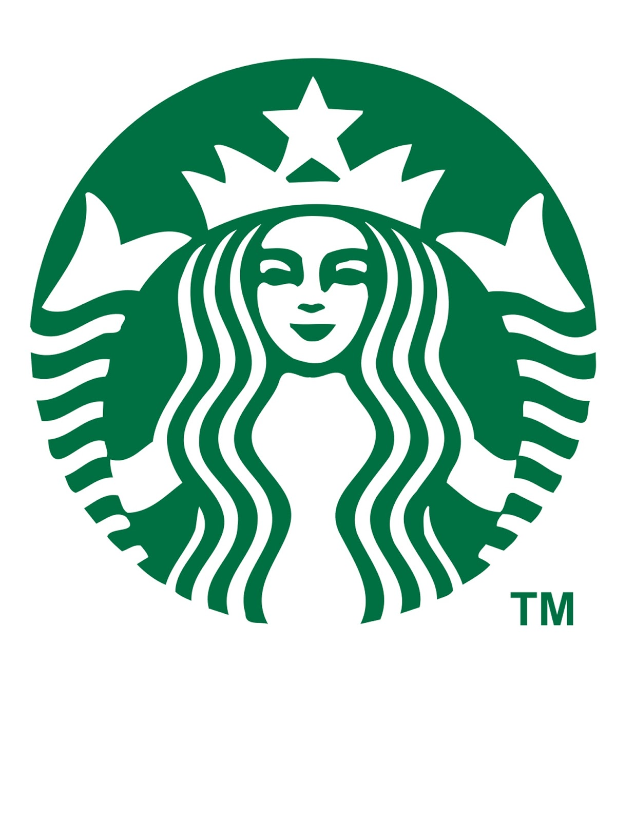 Trust image throughout printable starbucks logo