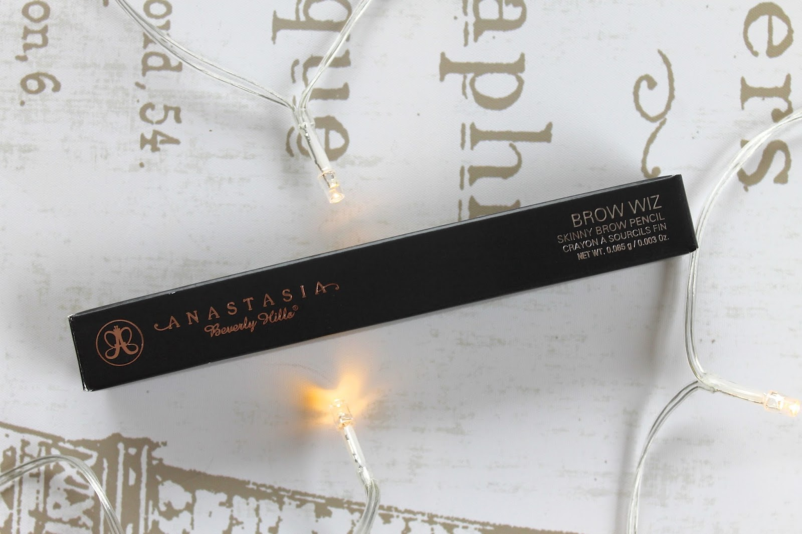 anastasia brow wiz blog review