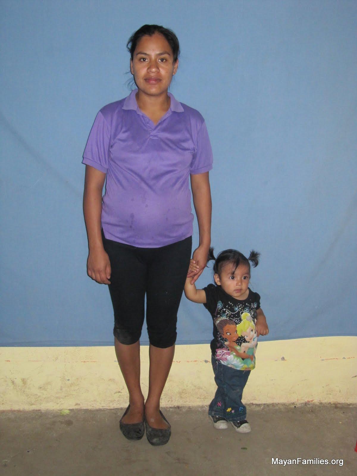 Brenda Lopez is seven months