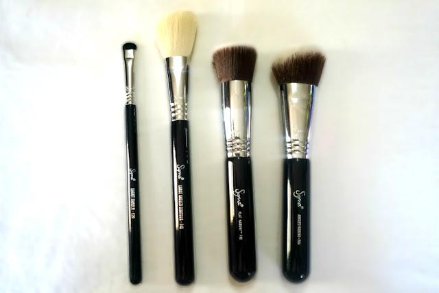 Sigma Beauty Make Up Brush E20, F40, F80, F84