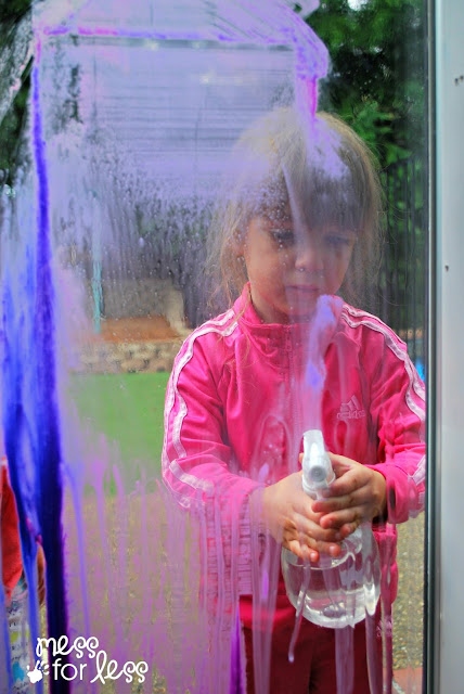 Kids Window Art Activity