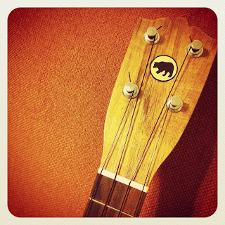 Black Bear ukelele