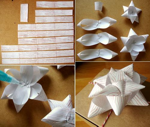 DIY Upcycled Gift Bows | going home to roost