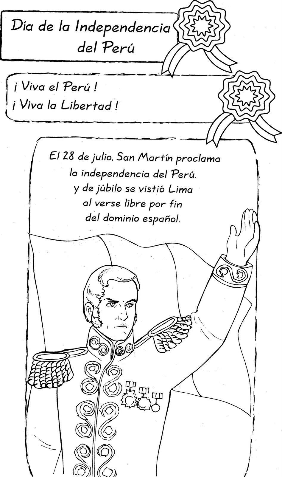 Dibujos Para Colorear Bicentenario De La Independencia De Colombia ...