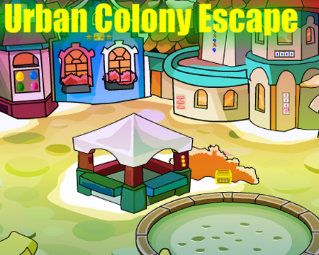 Juegos de Escape Urban Colony Escape