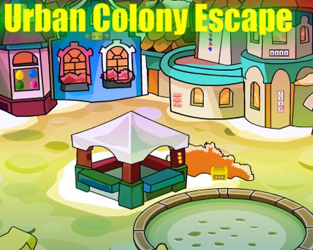 Juegos de Escape Urban Colony Escape