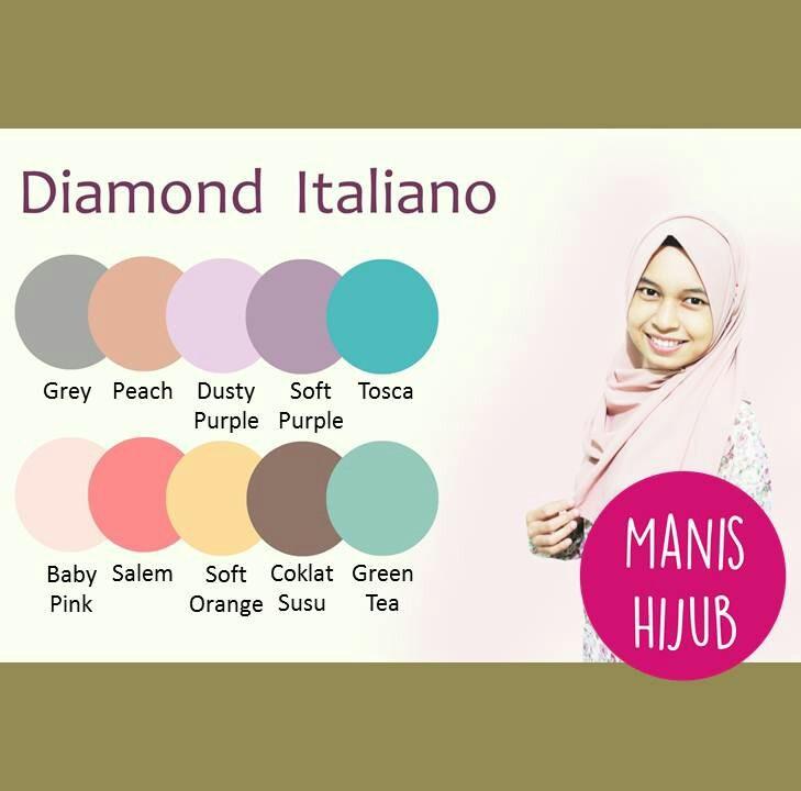Manis Hijab Collection Jual Jilbab Manis Hijub Diamond Italiano