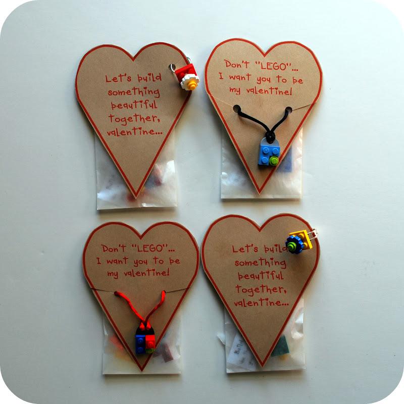Make This: LEGO Accessory Valentine Tutorial