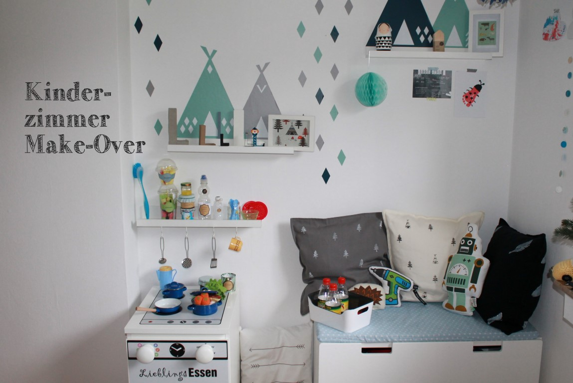 kleines freudenhaus kinderzimmer make over zu weihnachten. Black Bedroom Furniture Sets. Home Design Ideas