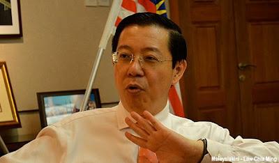 Ketua Menteri Pulau Pinang Lim Guan Eng