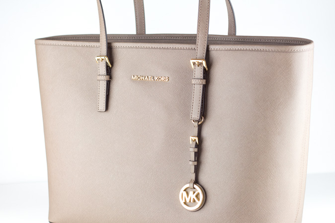 michael kors jet set travel tote dark dune