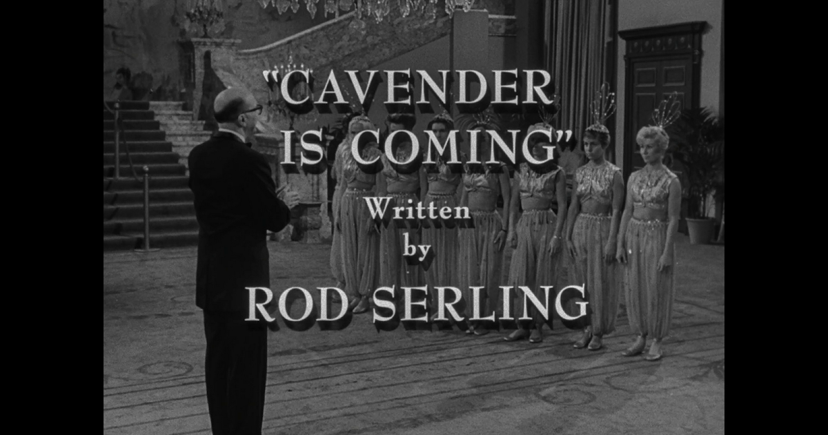Cavender is coming