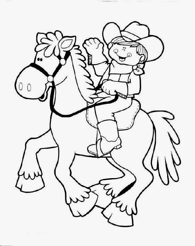 Cowboy Santa Coloring Pages Free Cowboy Coloring Pages az