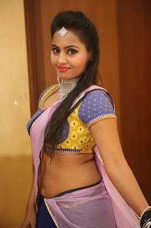 Actress Neetha Sizzling pics in half saree 023.JPG