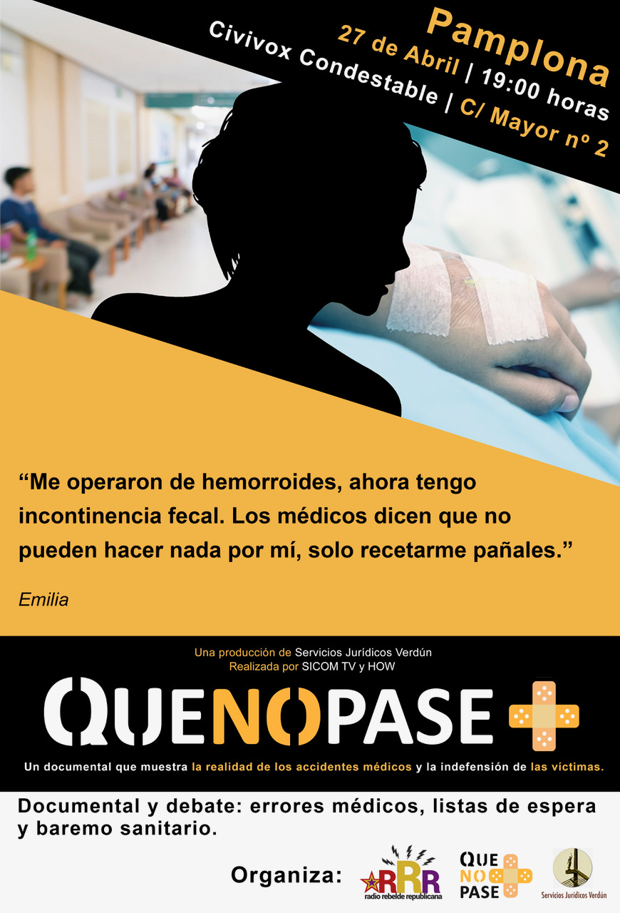 "Documental ""Que no pase más"""