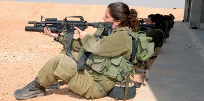Kumpulan Foto Tentara Wanita Israel Cantik dan Seksi