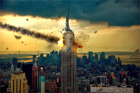 Meteorite Impact Photoshop tutorial
