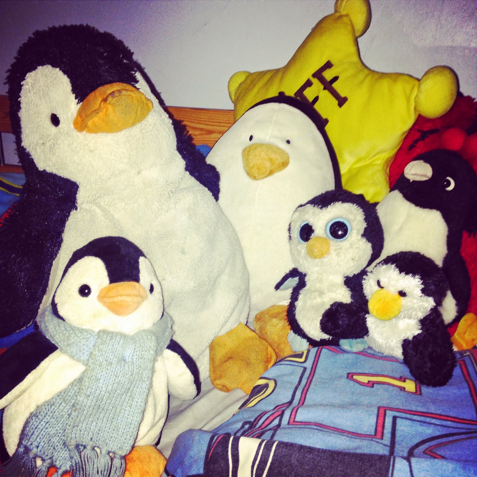 All The Boy's toy penguin collection