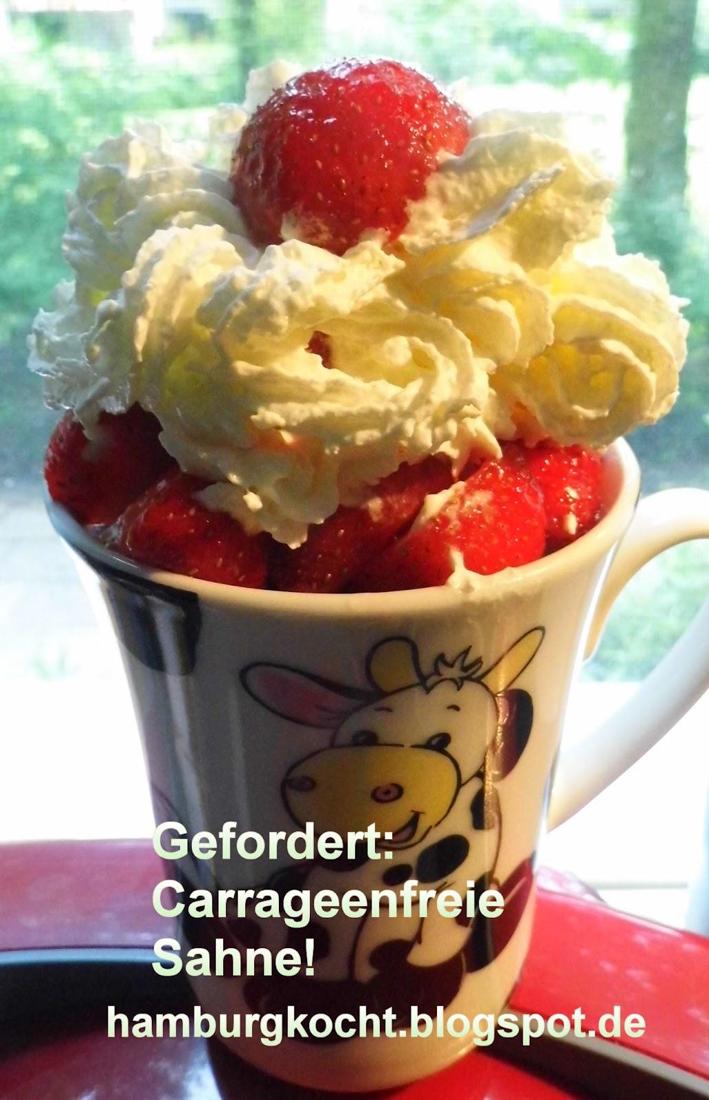Blog-Event Gefordert: Gebt uns carrageenfreie Sahne!