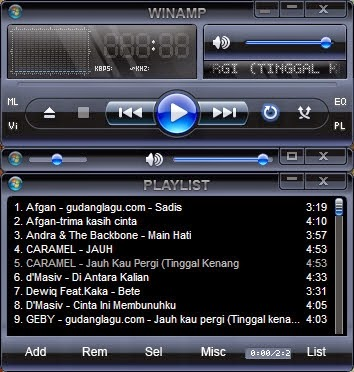 Download Winamp Update Terbaru 2015