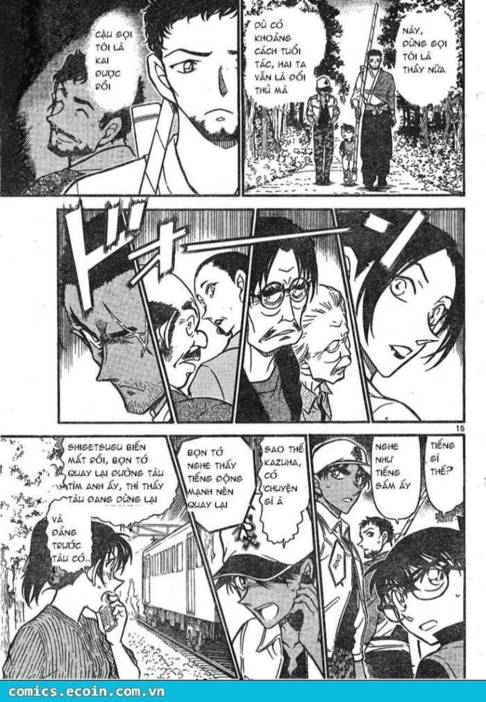 Detective Conan - Thám Tử Lừng Danh Conan chap 616 page 15 - IZTruyenTranh.com