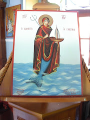 Σε μια τέτοια Παναγία πιστεύετε Σταυρούλα, αν ανέχεστε αυτά τα βλάσφημα «αγιογραφήματα»...