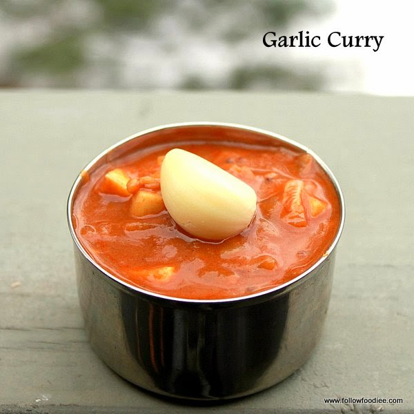 Garlic Curry , Poondu Kulambu Recipe