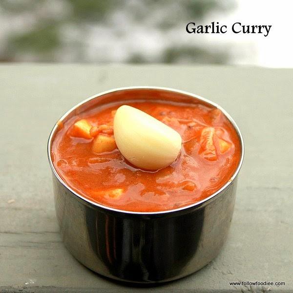 Garlic Curry , Poondu Kulambu Recipe