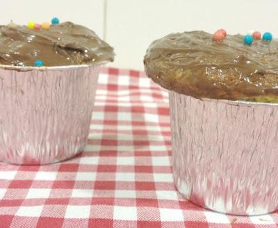Cocinamos con los Peques: Cupcakes con Topping de Nocilla y Anisillos